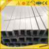 Personnalisé 6063/6061 aluminium de profilé en u avec la pêche à la traîne en aluminium