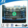 Rückstoss-Netz mit grünem Ziel für Trampoline