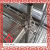 Andamio de acero de Ringlock del material de construcción del SGS/todo el sistema redondo
