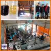 Pianta di riciclaggio residua dell'olio per motori esente da acido e da argilla