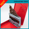 jeux de morceaux de foret de 1.5-13mm Hssco Twsit pour le perçage en métal