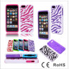 Мобильный телефон Covers для iPhone 5g, PU Stripe Phone Cover Zebra