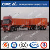 Cimc Van / Box / Cargo Trailer Trem com Dolly