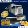 Microplaqueta de batata cozida automática cheia que faz a máquina