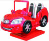 تسلية يركب سيارة فائقة أحمر [كيدّي] عمليّة ركوب
