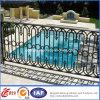 Cerca quente do ferro feito da piscina de Galvaniuzed da segurança (dhfence-5)
