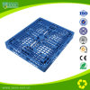 Palete de plástico resistente a três secções