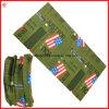 Foulard de qualité avec le logo de drapeau des Etats-Unis pour les vêtements (YH-HS120)