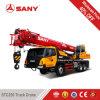 Sany Stc250は25トン2012年ユーロIIIが付いている条件秒針のトラックによって取付けられたクレーンを使用した