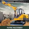 Precio del excavador de la alta calidad de XCMG que camina Xe60c