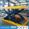 1ton 1m industrielles Lager-im Freien und stationäre Innenhydraulische Scissor Aufzug-Tisch-Gerät