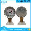 manomètre d'indicateur de pression de caisse d'acier inoxydable de cadran de pouce de 40mm