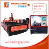 Small&Large-Format Präzisions-Faser-Laser-Stich-Ausschnitt-Maschine/Laser