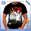 T-shirt impresso gráfico do algodão da bandeira da lembrança dos homens de OEM/Wholesale