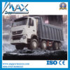 Sinotruk HOWO 12 바퀴 70 톤 수용량 모래 팁 주는 사람 트럭 가격