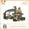 Automatische flexographische Papierrollendrucken-Maschine