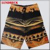 Shorts da praia dos homens secos fáceis com poliéster 100%