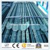 Postes galvanizados redondos de la cerca del metal del producto principal/coste galvanizado de la hoja del hierro