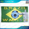 Bandierina su ordinazione del Brasile di gioco del calcio del poliestere (NF01F03095)