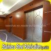 장식적인 식각된 디자인 스테인리스 엘리베이터 미닫이 문