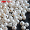 8-9mm Large Hole Round Freshwater Pearls Wholesale für Jewelry