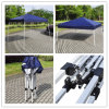 HzZp108 2.4X2.4/3X3m (8X8/10X10FT) Folding Gazebo Good Canopy Hot Seel Tent.
