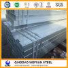 Tubo hueco cuadrado sumergido caliente de la sección de Galvanzed Constructural