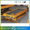2016 levage en bois de plate-forme de convoyeur de rouleau hydraulique du poids léger 1ton