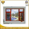 Doppeltes Glasaluminiumfenster mit Edelstahl-Bildschirm (XA005)