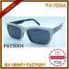 Armature matérielle d'acétate avec les lunettes de soleil polaroïd d'objectif (FA15004)