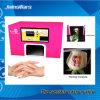 2016 Mini écran tactile de haute qualité Intelligent Host Computer Finger Nai Imprimante / imprimante à fleurs / L Imprimante de salon