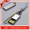 안녕 Speed Flash를 가진 Metal 싼 Ultrathin Mini USB Flash