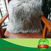 cuscino mongolo genuino dell'ammortizzatore del sofà della pelle di pecora di 40X40cm