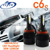 자동 램프 보충을%s 30W 3200lm H8/H9/H11 옥수수 속 C6s LED 맨 위 빛 3000k/6500k