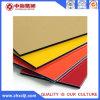 El panel plástico de aluminio del material de construcción