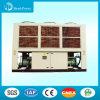 Tipo refrigerador da bomba de calor R407 de água de refrigeração ar do parafuso