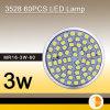lumière de 3w SMD LED, lumière de tache de 3528 60PCS LED (ALL-GU100060-SO)