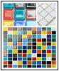 Het kleurrijke Mozaïek van het Kristal van het Glas