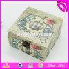 Оптовая дешевая изготовленный на заказ красивейшая деревянная коробка с замком W18A026