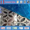 Hojas decorativas del acero inoxidable Ss304