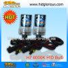 Bulbo OCULTADO xenón de H7 6000k 35W 55W, bulbo OCULTADO