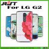 para la cubierta dura de la caja del teléfono de la impresión de la historieta del LG G2 D802