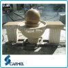 Fontana di pietra della sfera dell'acqua del granito & sfera esterna della fontana del giardino