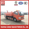 작은 Fire Truck 5000L High Pressure Fire Fighting Watering Truck Water Tank Truck