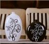 Самыми лучшими застекленные подарками части вазы 2 украшения Morden гончарни украшения фарфора домашние/комплект