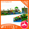 Áreas de juego al aire libre plásticas del jardín de la casa del juego de los cabritos