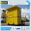 Insacchettatrici messe in recipienti mobili di ponderazione per carico all'ingrosso