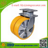 Polyurethan-Aluminiumkern-Hochleistungsschwenker-Fußrolle