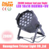 RGBWA+UV 6 in 1 Indoor LED Zoom PAR Light 18X18W