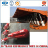Cilindro hidráulico telescópico para a sustentação de equipamento da mineração